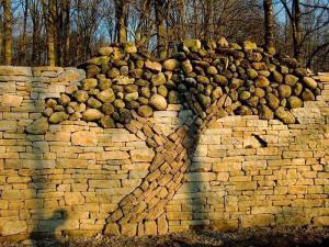 mozaika iz kamnya dlya stroitelstva