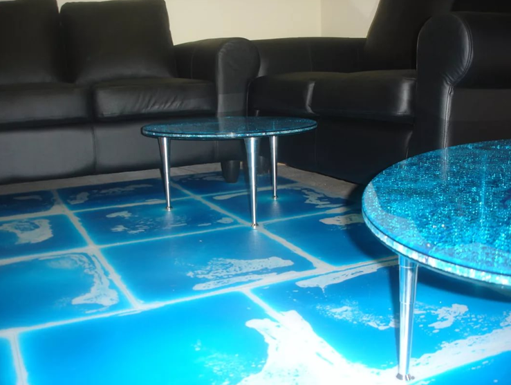 Живая плитка для помещений с повышенной влажностью